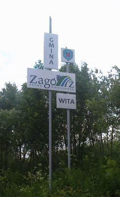 Gmina Zagórz - logo