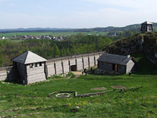 Gród na górze Birów 3