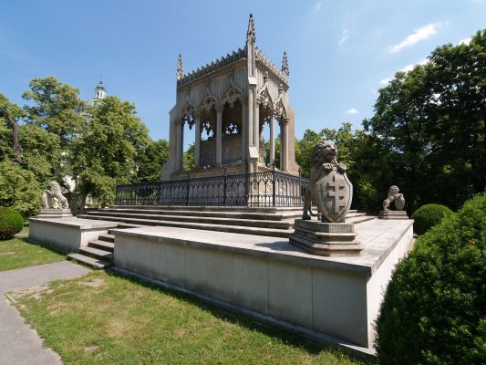 Warsaw Wilanow Potocki mausoleum
