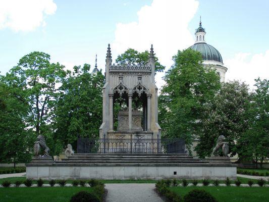 Mausoleum of Potocki family in Wilanów