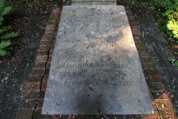 Płyta nagrobna księcia Ludwika Anhalta (1783-1841) w Pszczynie