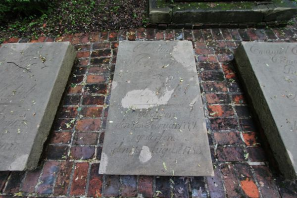Płyta nagrobna księżniczki Christiany Anhalt (1774-1783)  w Pszczynie