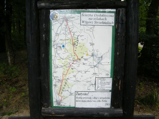 Mapa-szlaki turysyczne