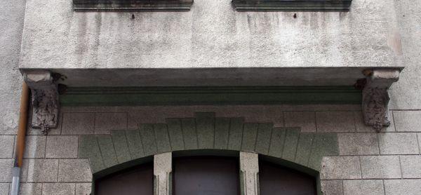 Międzychód hotel Pod Białym Orłem detal4 19. 08. 2013 p