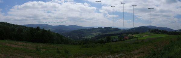Panorama z Jastrząbki BW 37