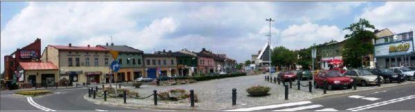 Rynek Jaworzno-panorama