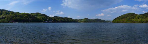 Jezioro Czchowskie panorama