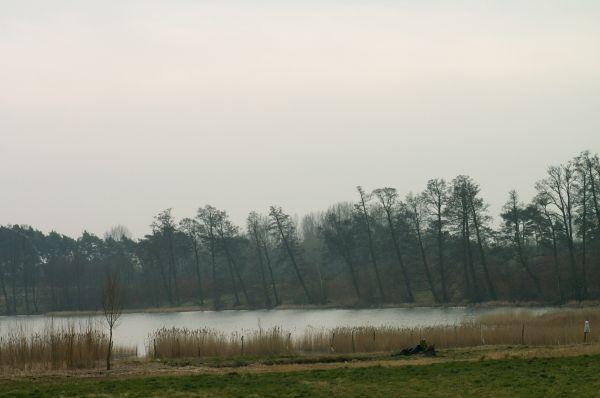 Jezioro Siesz-widok od strony centrum Swiesza