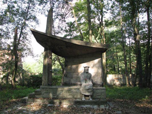 Calvary of Katowice Panewniki 3 Chapel of the Rosary