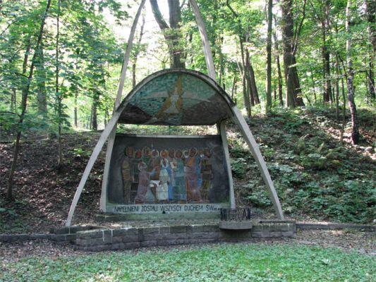 Calvary of Katowice Panewniki 8 Chapel of the Rosary