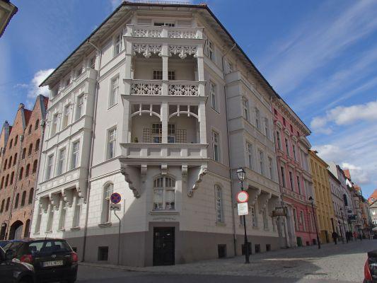 Toruń, Mostowa 9, fasada