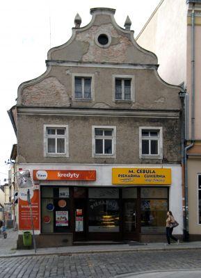 OPOLE kamienica narożna ul Osmańczyka 11 , front. sienio