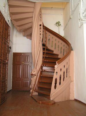 Torun schody Mostowa 6