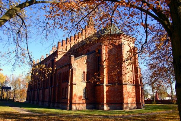 Immaculate Conception church in Kamionna, Poland