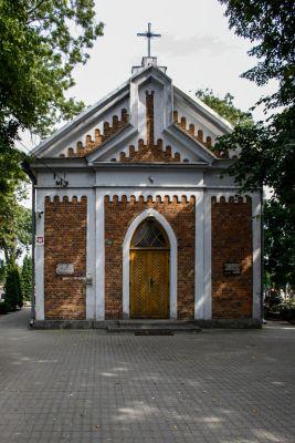1888 chapel on the Vistula River