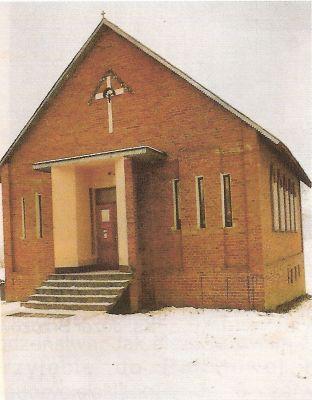 Kaplica w Wolicy Pierwszej przed rozbudową