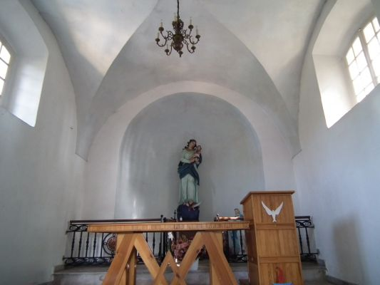 Kaplica p.w. Objawienia NMP - wnętrze