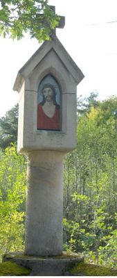 Cmentarz wojenny Nr 304 z I wojny światowej, kapliczka