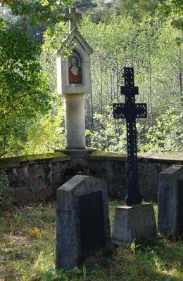 Cmentarz wojenny Nr 304 z I wojny światowej i kapliczka