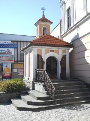"""Nowy Sącz, kapliczka """"szwedzka"""", 1771 2"""