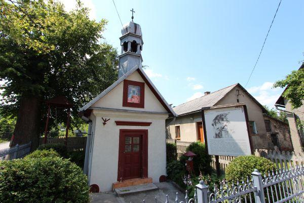 Kapliczka z XIX wieku w Podzamczu