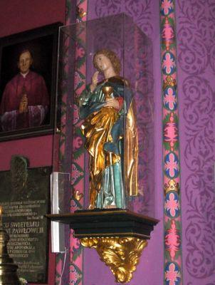 Katedra bydgoska - figura św Jana