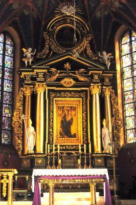 Katedra bydgoska - ołtarz główny NMP a