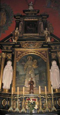 Katedra bydgoska - ołtarz św Antoniego