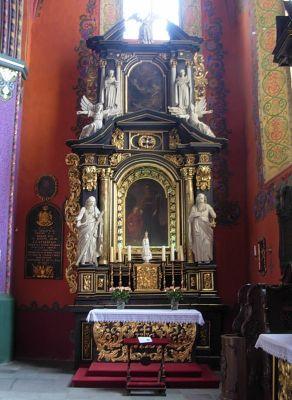 Katedra bydgoska - ołtarz św Józefa cały