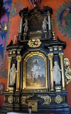 Katedra bydgoska - ołtarz św Rocha b