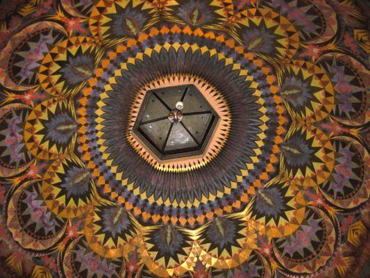 Katedra bydgoska - polichromia w kaplicy św Krzyża