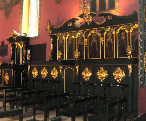 Katedra bydgoska - stalle pokarmelickie płd