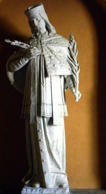 Sw Jan Nepomucen w katedrze w B-B