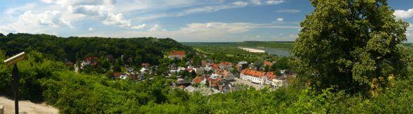 Kazimierz Dolny panorama