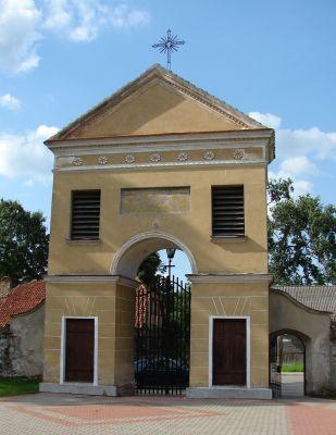 Brama. Zespół Klasztorny Bernardynów. Tykocin (2009)