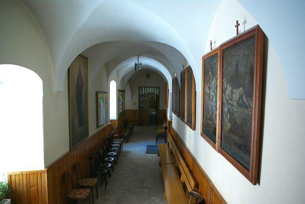 Corridor Franciscan Monastery Sanok