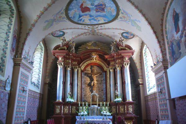 Ołtarz kościół oo. Franciszkanów Sanok