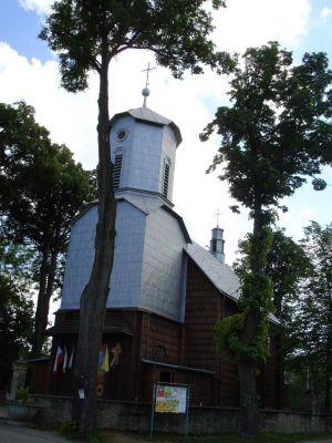 Klimkówka village Weis
