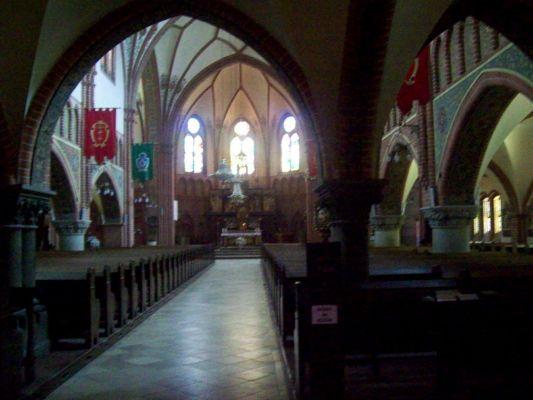 Collegiate church of Gdańsk Wrzeszcz – interior