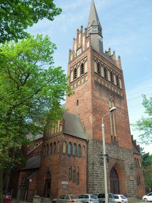 Gdańsk kościół Najświętszego Serca Jezusowego