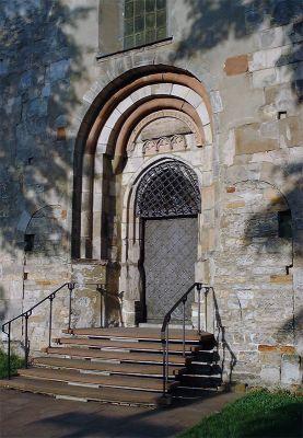 Opatow kolegiata portal