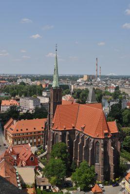PL - Wrocław - Kolegiata Świętego Krzyża i św. Bartłomieja - Kroton 001