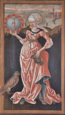 Kolobrzeg katedra obraz Cnotliwa niewiasta