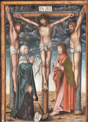 Kolobrzeg katedra obraz Ukrzyzowanie