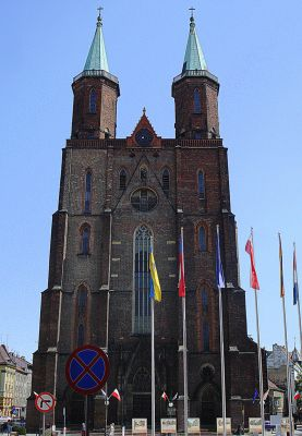 Legnica, kościół pw. NMP -Aw58- 2 maja 2009 r.