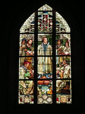 Marcin Luter kościół Mariacki w Legnicy