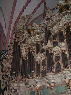 Organy w kościele Mariackim w Legnicy