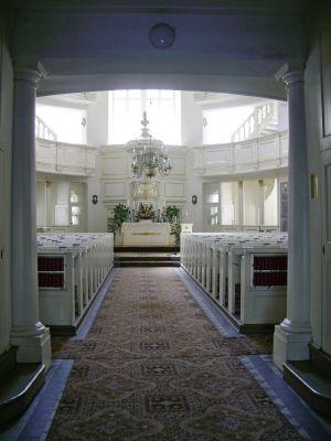 Kościół Opatrzności Bożej wnętrze