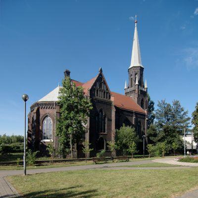Świętochłowice kościół ewangelicki im. Jana Chrzciciela DSC 7508