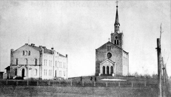 Evangelische Kirche und Schule Kattowitz